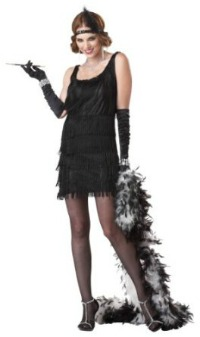 womens flapper halloween costume