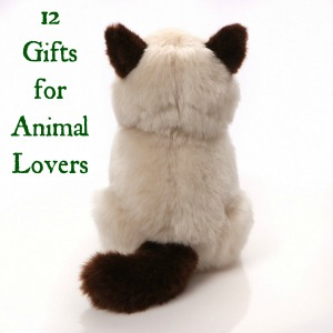 12 Gifts for People Who Love Animals