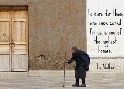 Caring Elders Essay