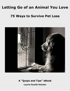 how to let go of a pet