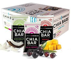 chia bars health and wellness gifts